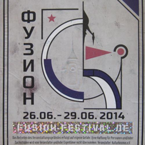 paul&schokolade at Fusion Festival 2014 (Haupttresen)