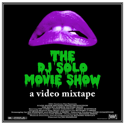 The DJ SOLO Movie Show *VIDEO MIX* DL in Description*