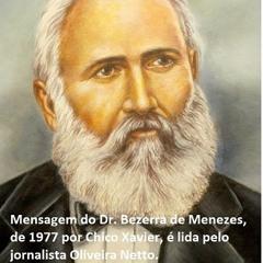 EM 1977, Chico Xavier recebe mensagem do Dr. Bezerra de Menezes e jornalista a ler com muita emoção!