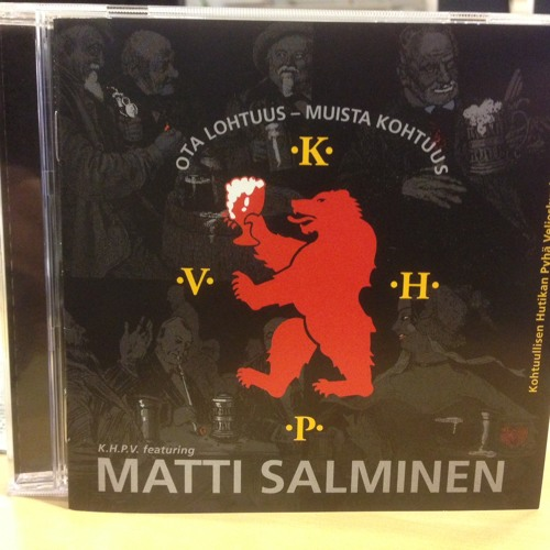 "KHVP ry:n Timo Pakkanen ja CD single ""Ota lohtuus-muista kohtuus"""