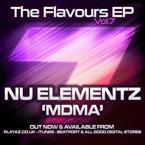 NU ELEMENTZ - MDMA (OUT NOW FLAVOURS VOL 7 EP - PLAYAZ)