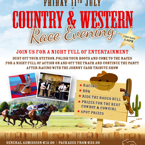 Navan Racecourse Country And Western Race Night by Horse