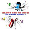 DJ RALPH E.L.A. 4th of July  80'S ROCK VS. BREAKS MIX.