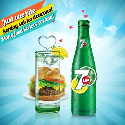 Mana Lo Food Ka Love with 7UP ♫♪