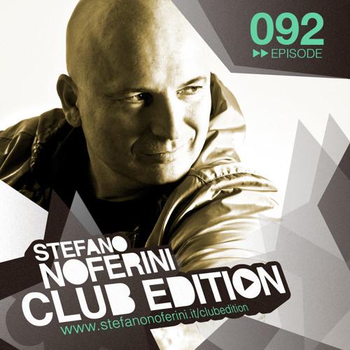 Club Edition 092 with Stefano Noferini