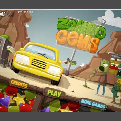 ZomboGems - Gameplay Loop (Computer Game)
