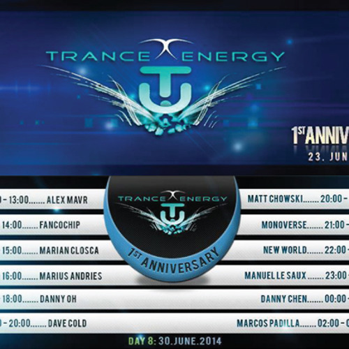 Danny Oh @ Trance Energy Radio 1st Anniversary [30th June, 2014]