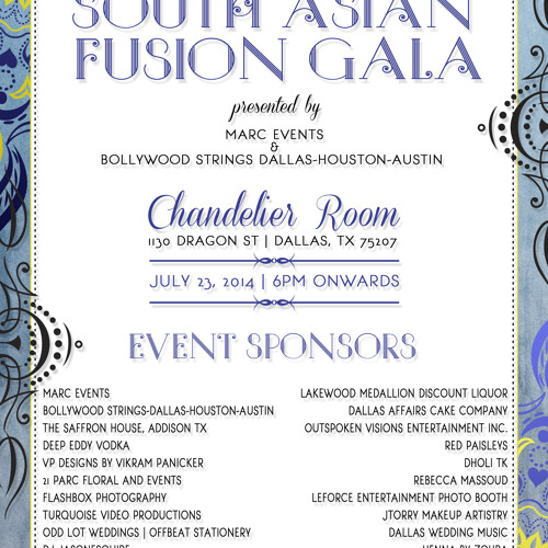 Second Annual South Asian Fusion Gala