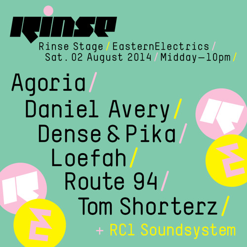 Rinse FM - Kismet - 5th July 2014