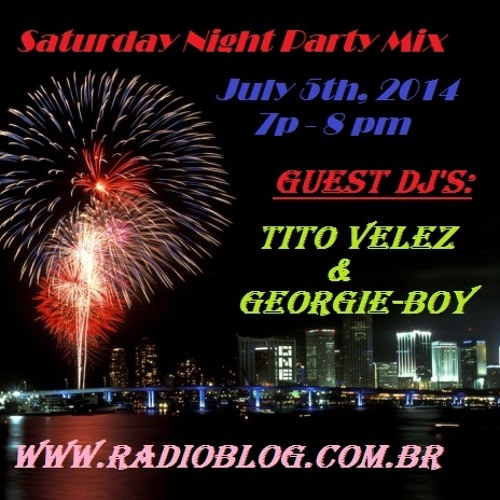 "Radioblog ""Da Bango"" Mixed By:Tito Velez &Georgie-Boy"