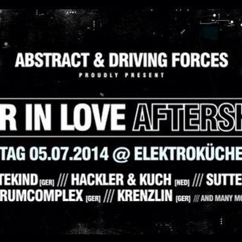 Drumcomplex @ Elektroküche Cologne DFR & Abstract Showcase 05.07.2014