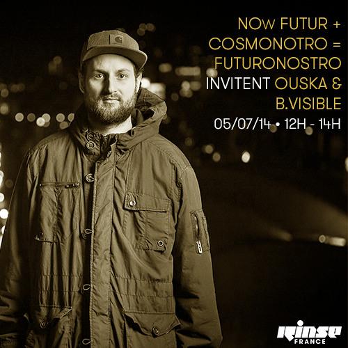 FUTURONOSTRO #002 on RINSE FM with OUSKA &  B.VISIBLE