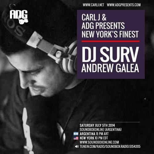 CARL J & ADG Presents - DJ SURV