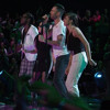 Christina Grimmie, Delvin Choice, Kat Perkins & Adam Levine - Sledgehammer (The Voice Performance)