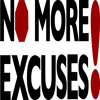Banish Excuses!  - Daily Word July 7, 2014