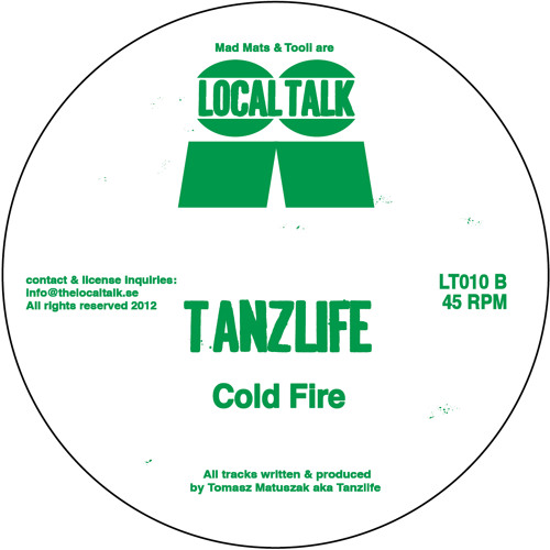 Tanzlife - Cold Fire (LT010, Side B)