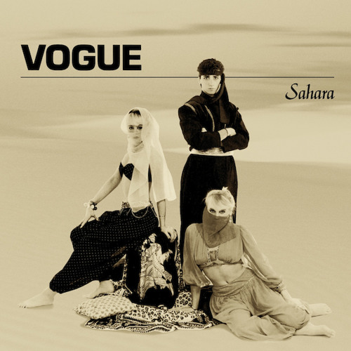 "VOGUE Sahara / Shattered Peace 12"" (ANNA 051) - Out October 1, 2014"
