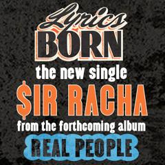 """Lyrics Born """"$ir Racha"""""""