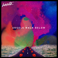 Harts Angels Walk Below Artwork