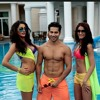 Main tera hero movie song by sare rath besharme ki hi..