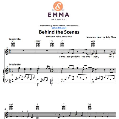 Behind The Scenes Piano Demo