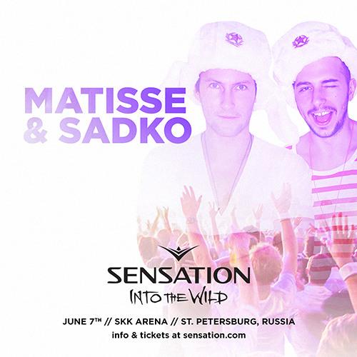 Matisse & Sadko @ Sensation Russia 2014