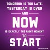 Tomorrow is Too Late!  - Daily Word July 9, 2014