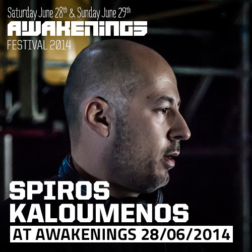 Spiros Kaloumenos at Awakenings Festival 2014, Day One (June 28th)