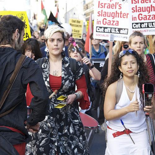 San Francisco Protest Denounces Israeli Offensive Against Gaza