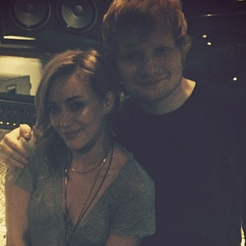 Ed Sheeran Gives Details on Working With Hilary Duff