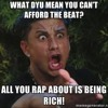 All you Rap About is Being Rich