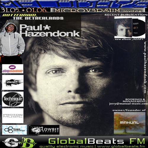 PAUL HAZENDONK @ Melodays 2014 // GlobalBeats FM [White Channel] 31.05.+01.06.