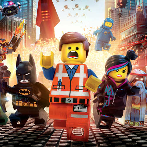 everything is awesome lyric video lego movie tegan