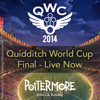 The 2014 Quidditch World Cup final is taking place now!