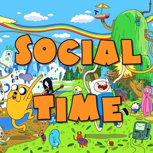 Julien Wee - Social Time (+ lyrics) [Adventure Time Theme Song Remix]