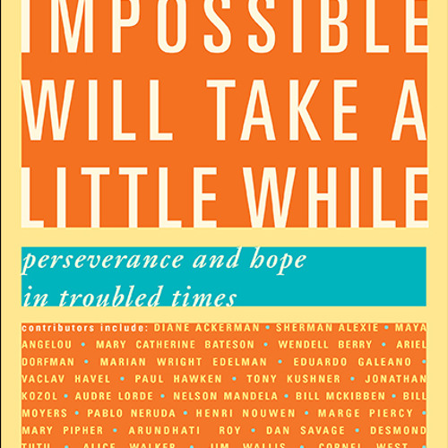 Paul Loeb - THE IMPOSSIBLE WILL TAKE A LITTLE WHILE: Perseverance and Hope in Troubled Times
