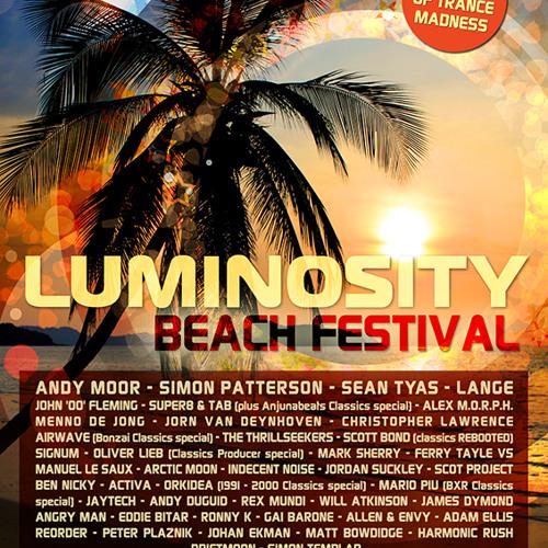 Johan Ekman LIVE @ Luminosity Beach Festival | Holland, July 5th 2014