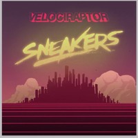 Velociraptor Sneakers Artwork