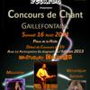 Concours de chant à Gaillefontaine - 16 Aout 2014 - Planete Elea Radio