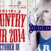 Miranda Lambert Announces- Kicks Country Fair Headliner