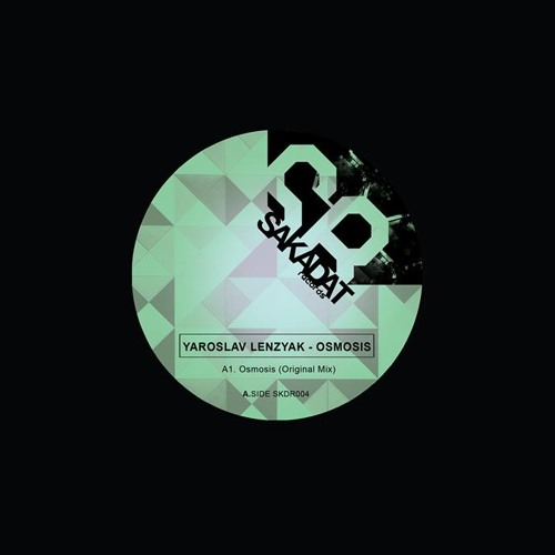 [SKDR004]Yaroslav Lenzyak - Osmosis (incl. Pheek Remix) Vinyl Only June 2015