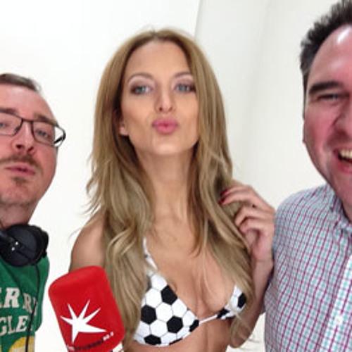 World Cup Bikini Interview Van Kristof Buntinx Door Bruno Op De Beek Op FM Brussel