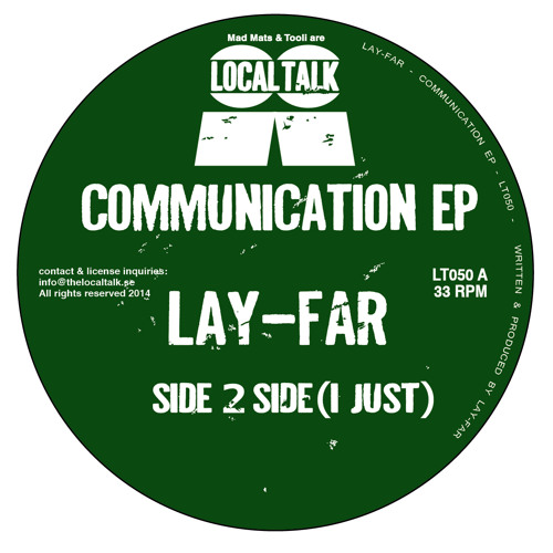 Lay - Far - Side 2 Side (I Just) (12'' - LT050, Side A1)