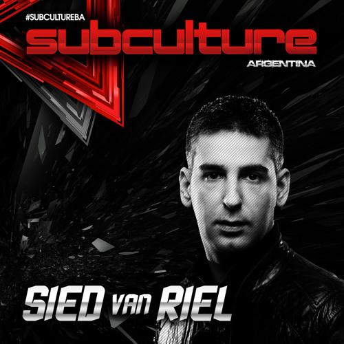 [Live Set] Sied van Riel at Subculture Buenos Aires Argentina 07-12-2014