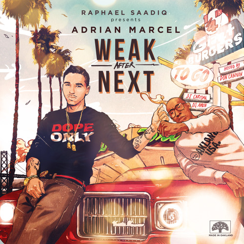 Adrian Marcel – Weak After Next @AdrianMarcel510 @RaphaelSaadiq