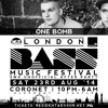 LONDON BASS MUSIC FESTIVAL & SW4 UNOFFICIAL AFTER PARTY PROMO MIXED LIVE BY ONE BOMB