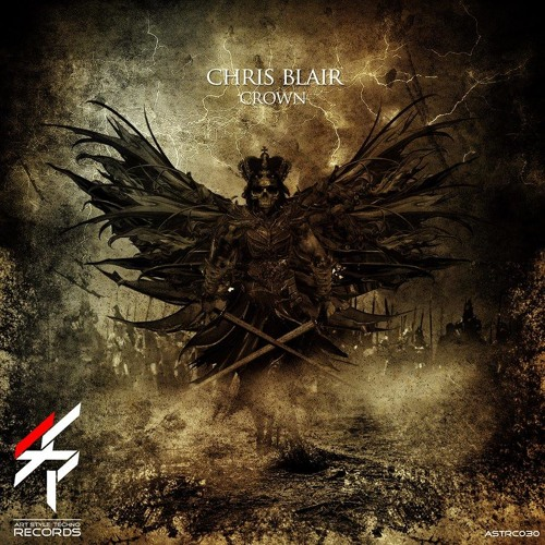 "Chris Blair - Metal Crush (CUT) ""Crown"" EP Art Style Techno Records"