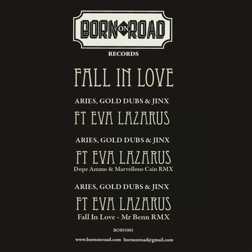 ARIES, GOLD DUBS & JINX ft EVA LAZARUS - FALL IN LOVE - DOPE