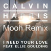 Calvin Harris - I Need Your Love - Ellie Goulding ( Mooh Remix ) PREVIEW!!!