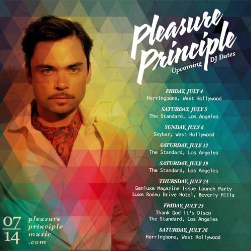 Pleasure Principle - Indian Summer Mixtape